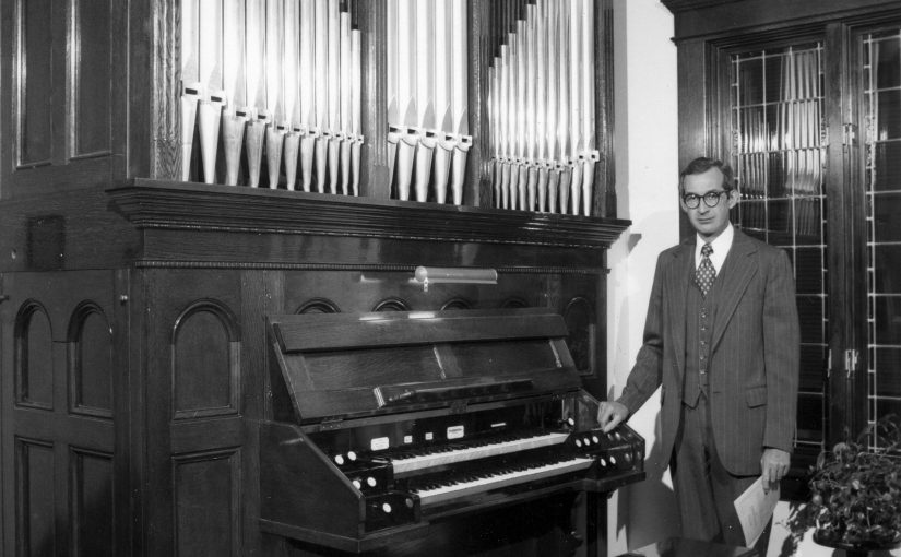 Custom-Built Organ Is Part of Music Professor's Lasting Legacy