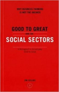 Good to Great in the Social Sector