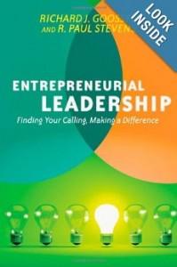entrepreneurial leadership--Goossen and Stevens