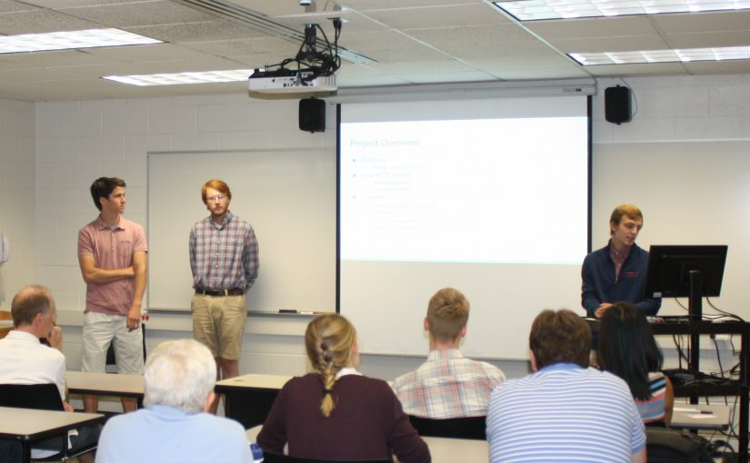 Summer research students continue development of the JanDY survey system