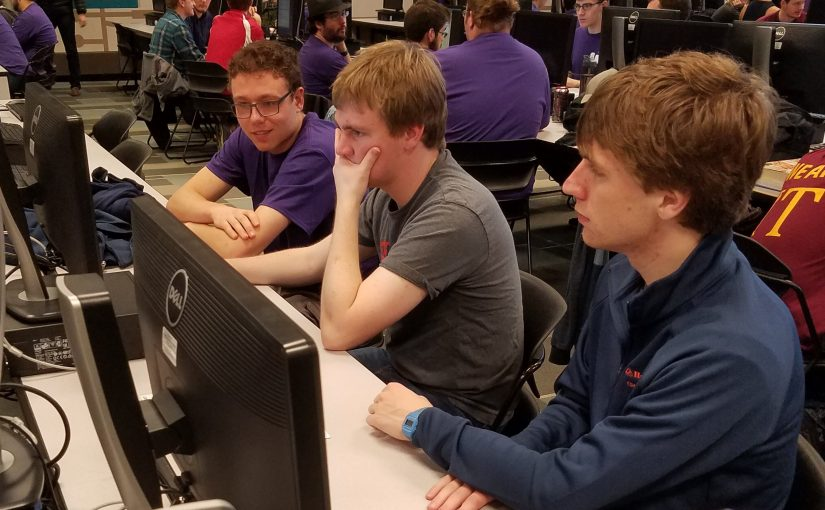 Students compete in ACM Programming Competition