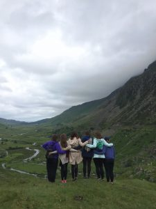 5) Six of our women in Snowdonia National Park in Wales.