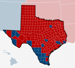 Texas voting patterns