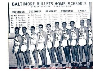 Baltimore Bullets 1950