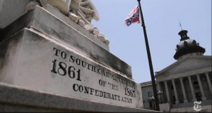 Confederate flag in South Carolina