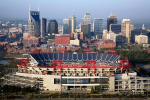 Nashville skyline--Go Titans!