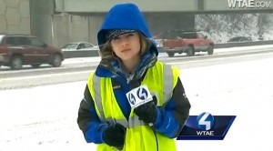 News report about snow