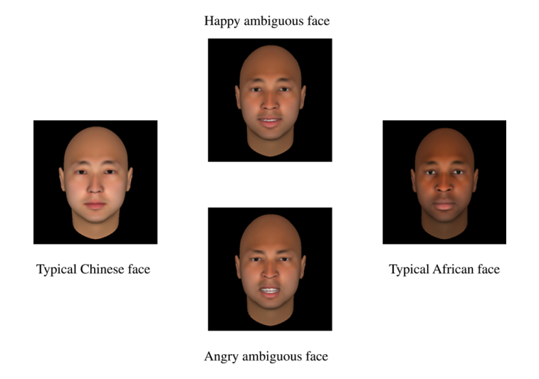 Xiao et al.--Chinese, African, and ambiguous faces