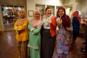"At a recent event Rachel coordinated at the museum called ""From Malaysia to Michigan."""
