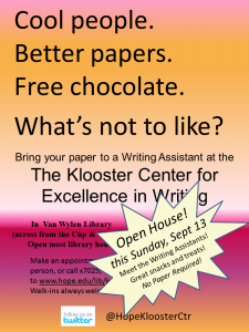 KC Open House small poster