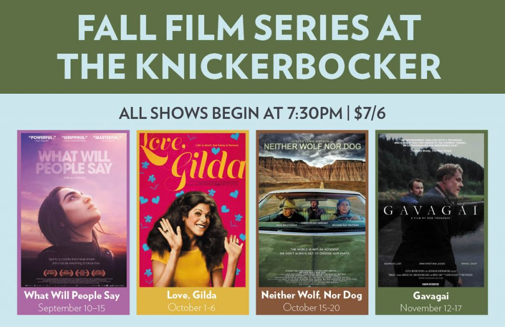 Fall Film Series Poster