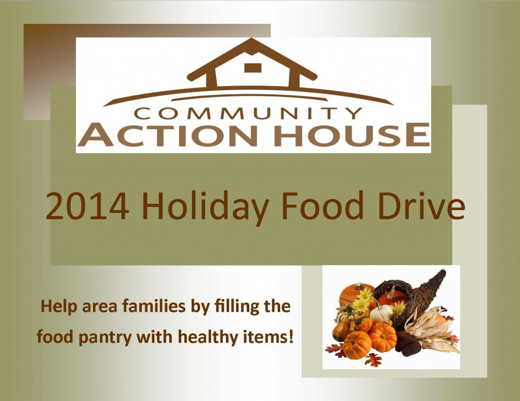 CAH holiday food drive 2014
