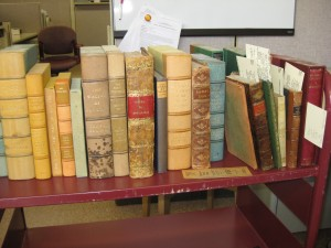 Rare book cataloging backlog