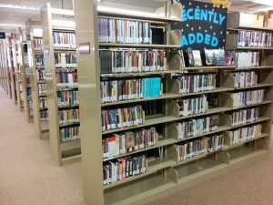 DVD section