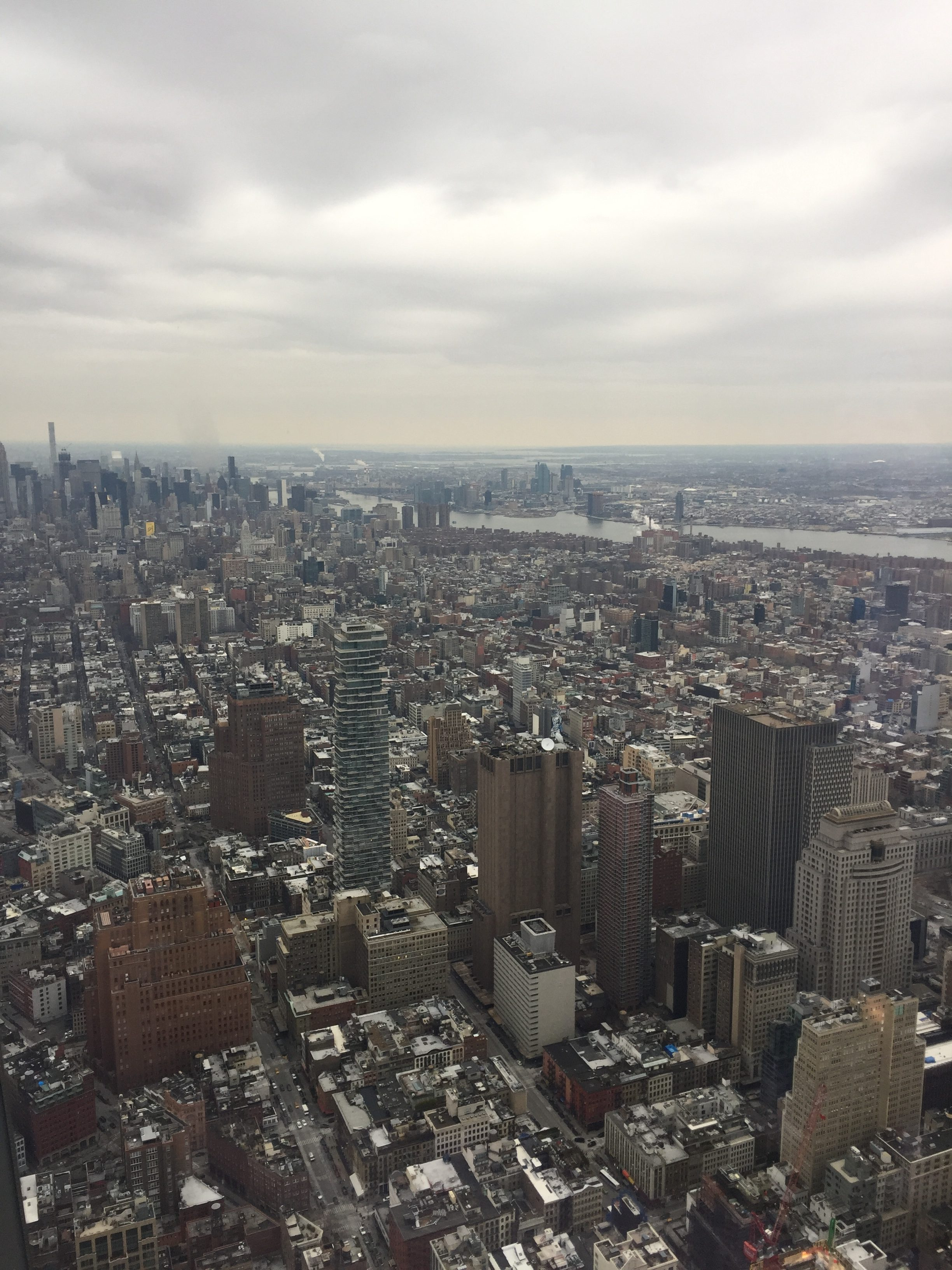 view of manhattan from the world trade center