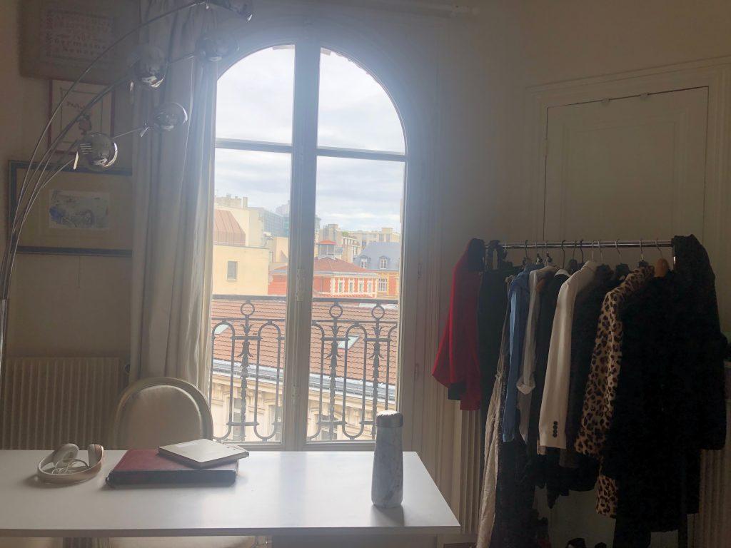 My new bedroom in Paris