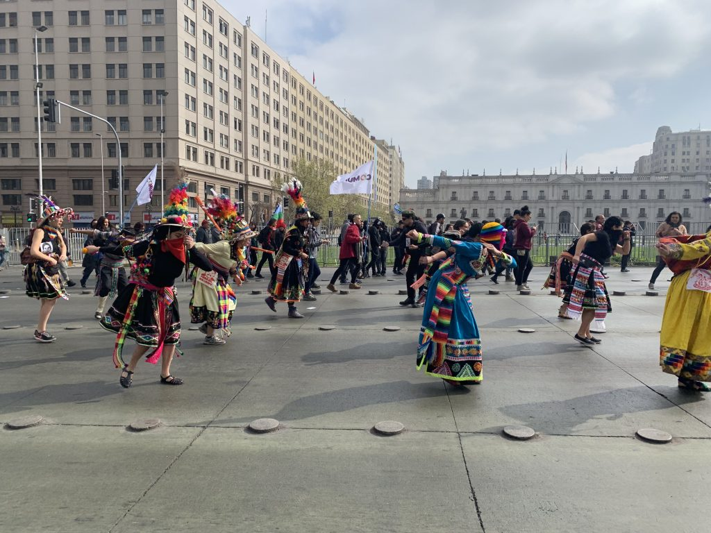 Indigenous dancing as a form of resistance to government violence