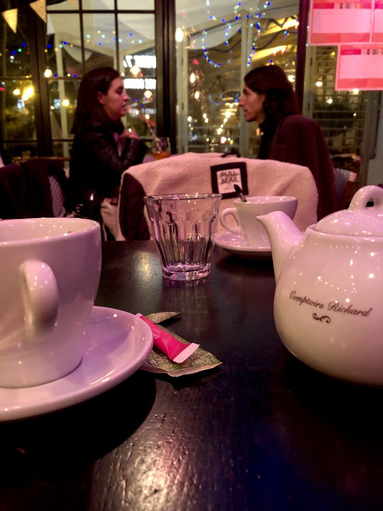 Tea, Coffee and the warmth of a Café