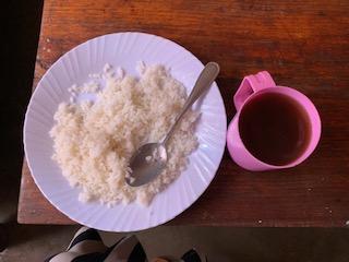 Wali (rice) & chai!