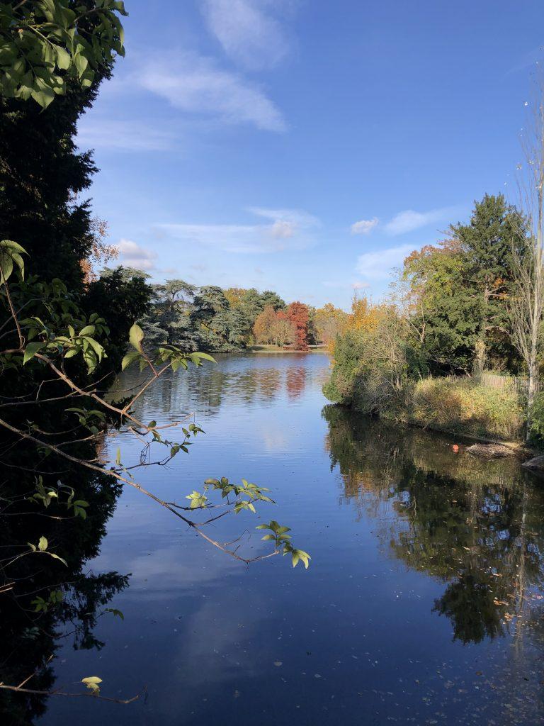 """""""Lac Supérieur"""" in Bois de Boulogne."""