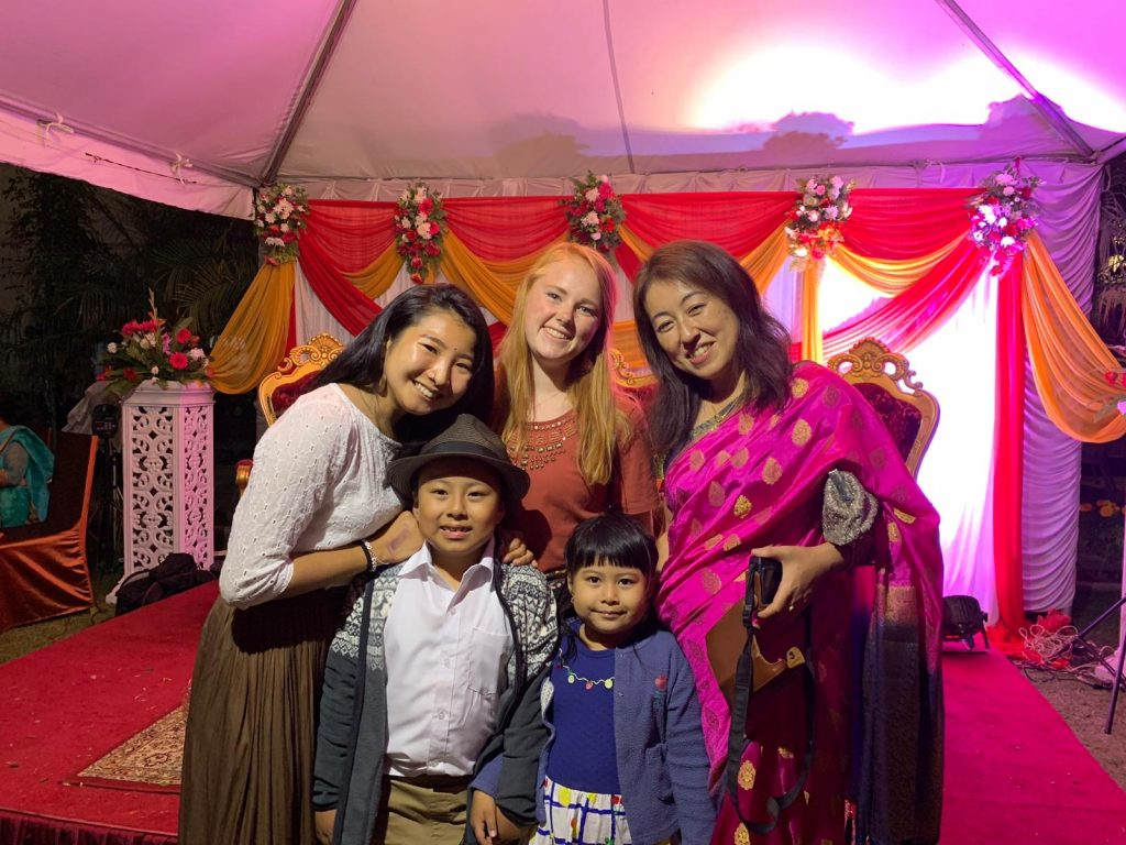 Our family took us to a Newari wedding and it was extravagant.