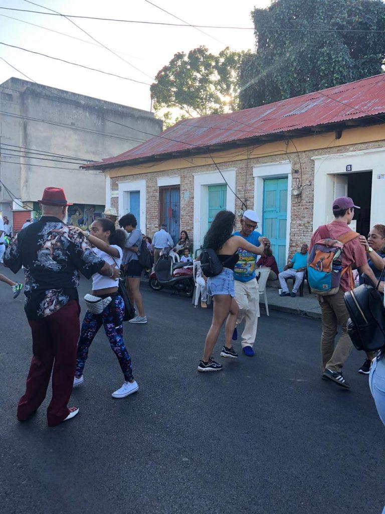Dancing on Cuba Street