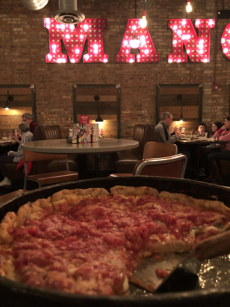 My Last Dinner in the US: Chicago Style Pizza