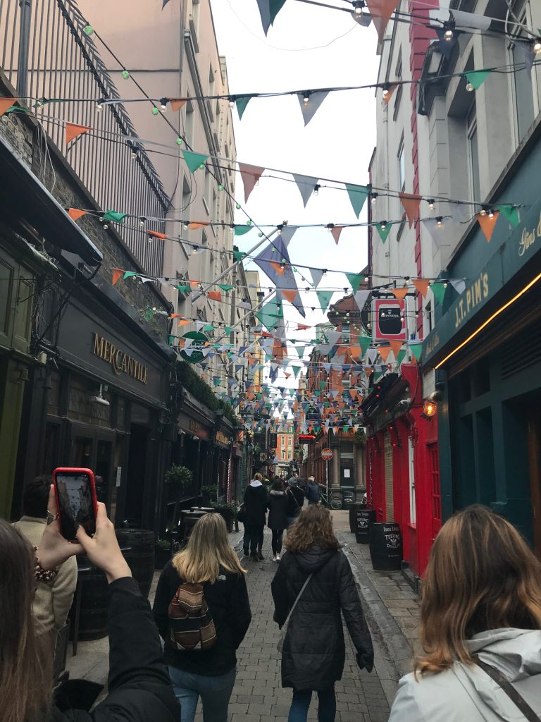 On Dame's Road, in the Temple Bar District