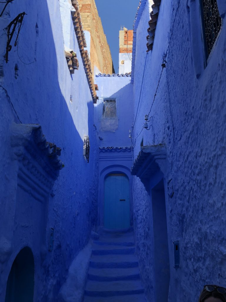Chefchaouen - the Blue Pearl, a popular and beautiful city in Morocco.