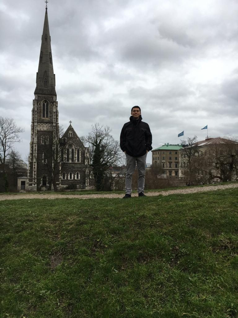 Oh, don't mind me, just standing in Copenhagen, Denmark!