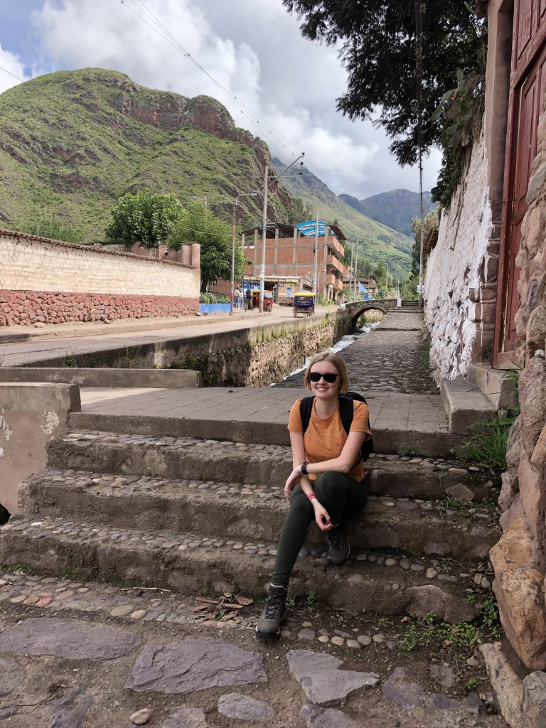 Me on a small group trip to Urubamba, a small puebla about 10 minutes away from the hotel we stayed at for orientation.