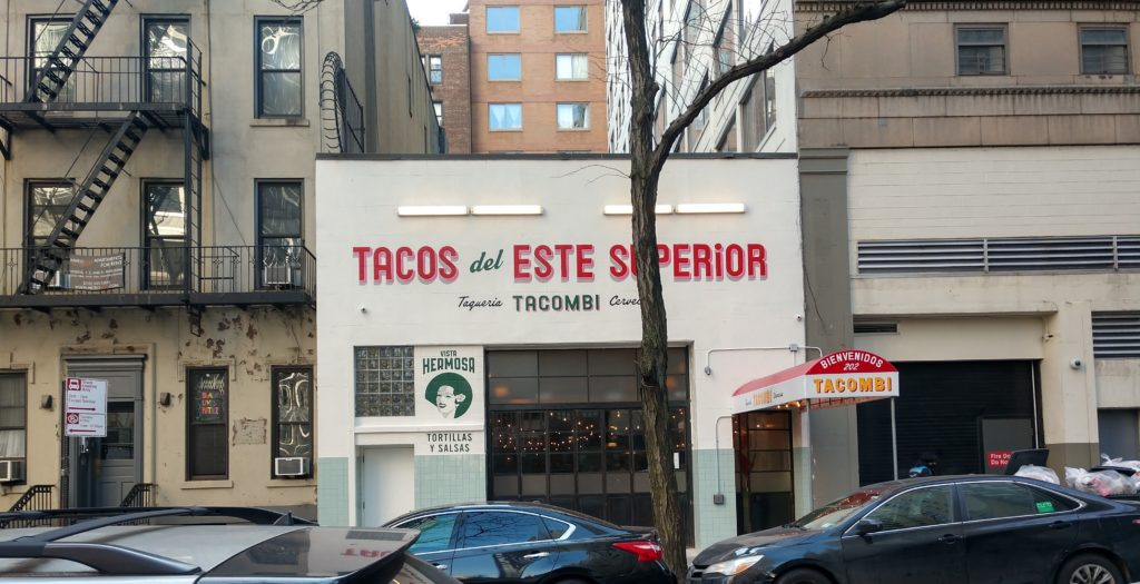 The Tacombi building.