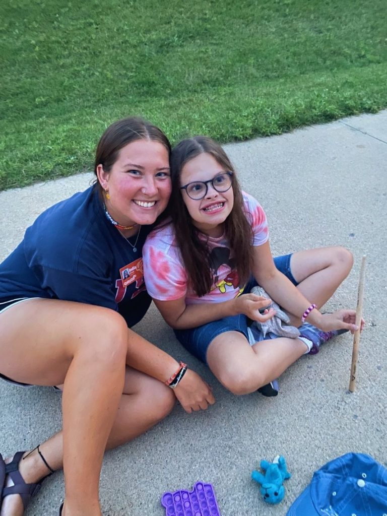 This is Ella. She made this summer so special. I mean just look at that smile :)