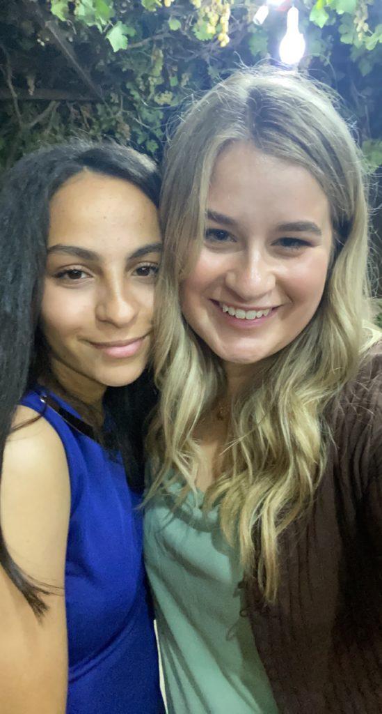 My friend Sarah and I