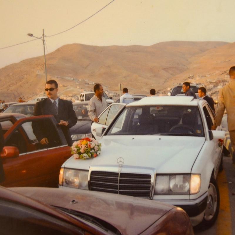 Jordanian Car Procession Image from Stephanie Altwassi