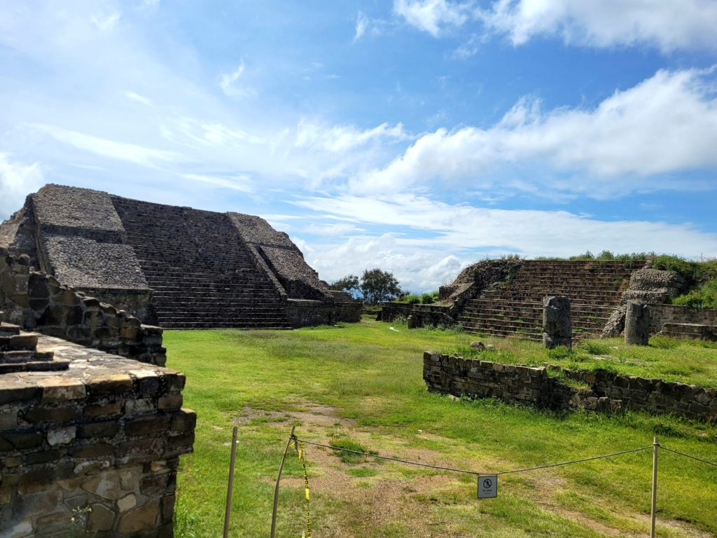 Monte Albán in all of its glory.