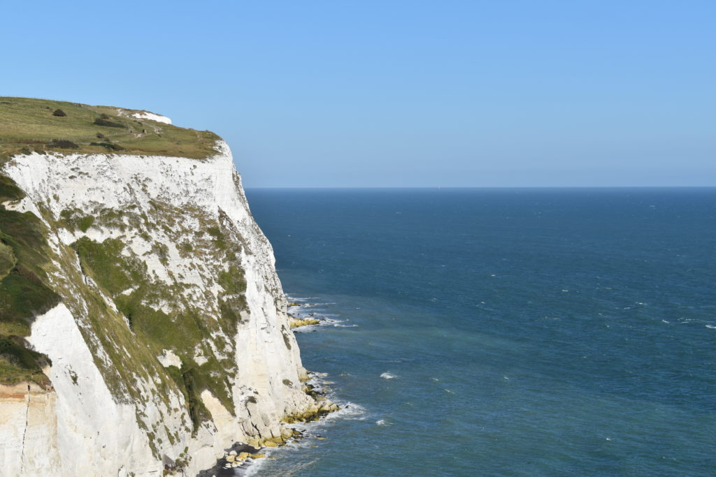 White Cliffs of Dover.  Standing tall in all their glory, the White Cliffs have been a symbol of hope and peace for people for many years. As the Statue of Liberty defines America for many, these cliffs are a clear symbol of Britain.