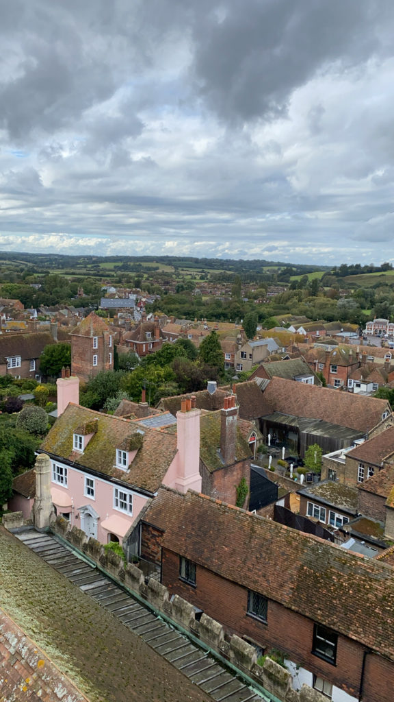 View from the tallest point in Rye