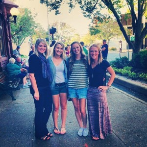 Dinner in South Haven with these lovely ladies!