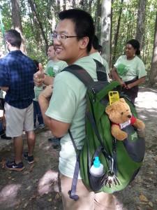I love the baby bear!