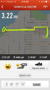3.22 Miles!