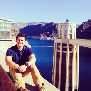 Just living life off the edge...of the Hoover Dam!