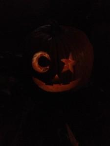 Pumpkin we carved