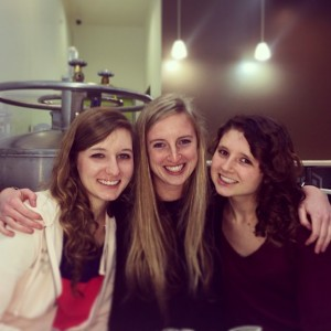 Me, Shannon, and Melissa at Creamistry