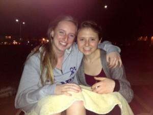 Melissa and I at Huntington Beach