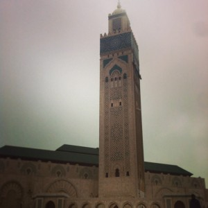 Hassan II mosque- world's largest 3rd mosque- Casablanca