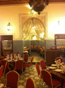 Where we had lunch in Fez- Asmae Restaurant