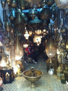 A shop in Fez