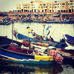 Marina in Rabat