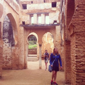 Ruins and friendship- Rabat
